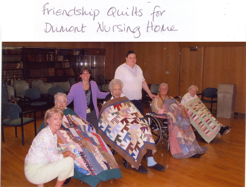 Friendship Quilts for Dumont Nursing Home