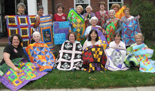VSQ Charity Quilts by members Summer 2007